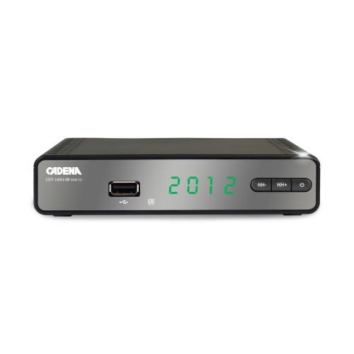Приемник цифровой эфирный CADENA CDT-1651SB