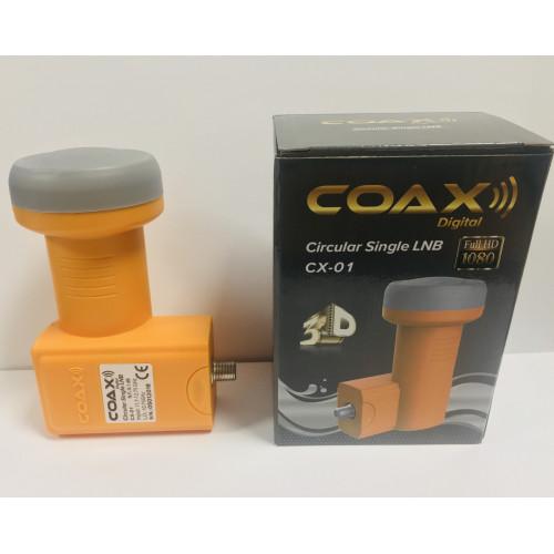 Конвертер спутниковый круговой COAX CX-01 на 1 выход