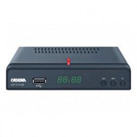 Приемник цифровой эфирный CADENA CDT-1711SB