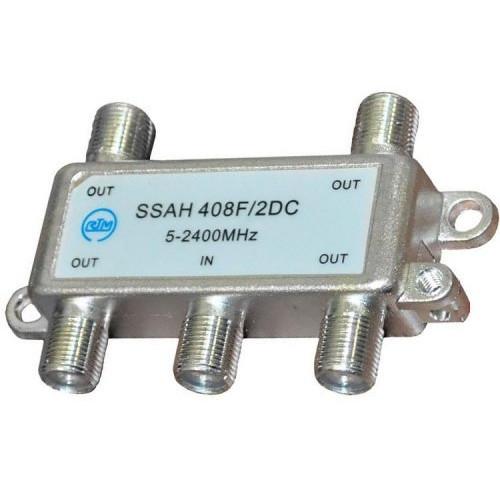 Делитель SSAH408 (1*4 5-2400 Мгц, проход питания)