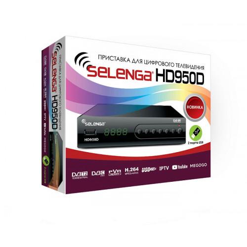 Цифровая эфирная приставка Selenga HD950D